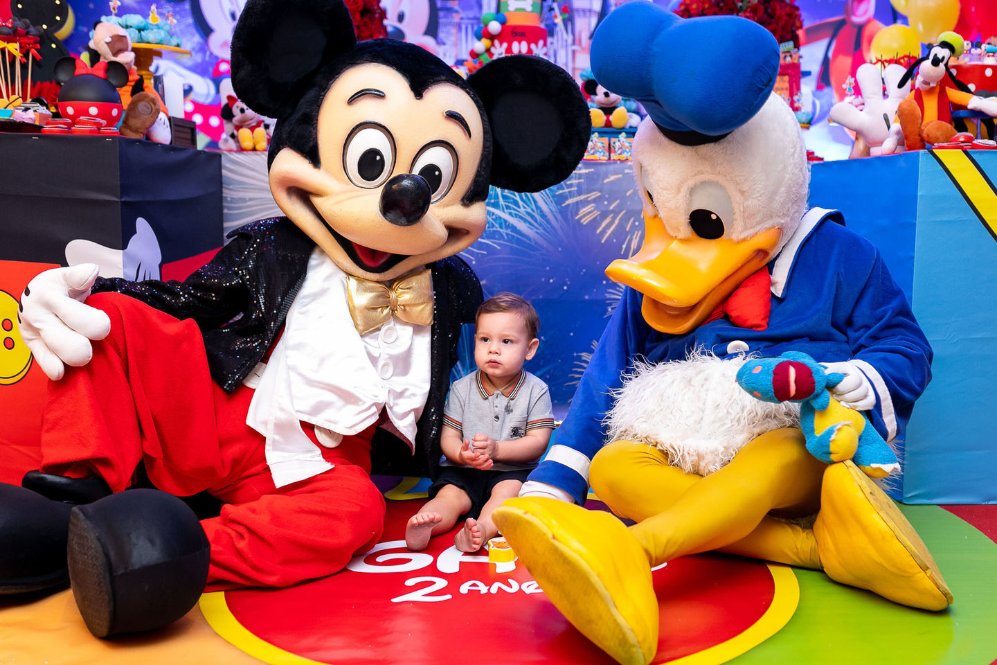 Festa Gael - Turma do Mickey